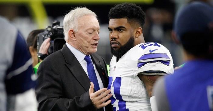 Jerry Jones might have just declared war on the NFL and its Ezekiel Elliott case