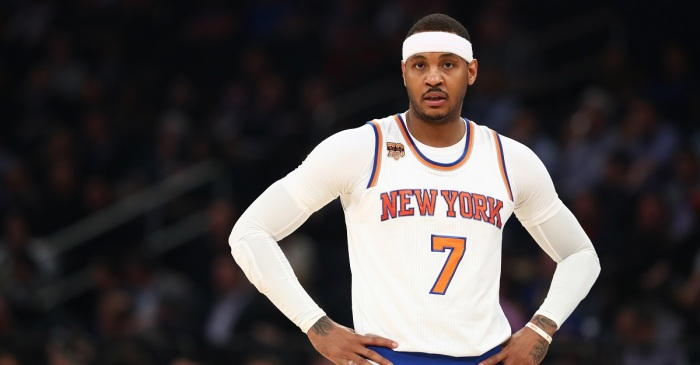ESPN insider shoots down rumored blockbuster Carmelo Anthony trade