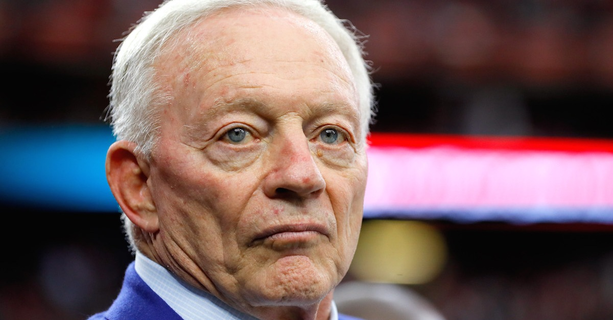 Jerry Jones names exactly what he wants from Roger Goodell in their ongoing feud