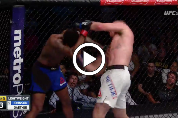 UFC Fighter Disrespects Opponent's Family, Then Pays for it Dearly
