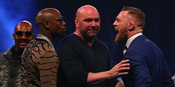 Conor McGregor-Floyd Mayweather rivalry has gotten out of control following fan's reported actions