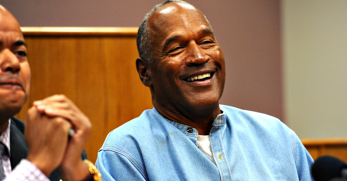 O.J. Simpson's former manager has a piece of very strong advice for his good friend