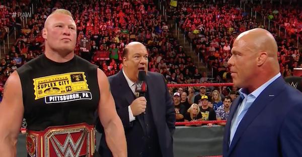 Stunning stipulation put on Brock Lesnar's WWE Universal title match at SummerSlam