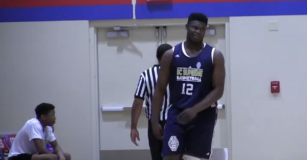 """Family of five-star Zion Williamson admits one school lost a """"mile and a half lead"""""""