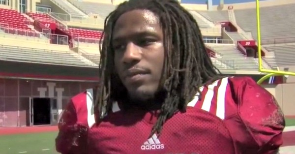 Former college football standout's life has fallen apart as he's been jailed yet again