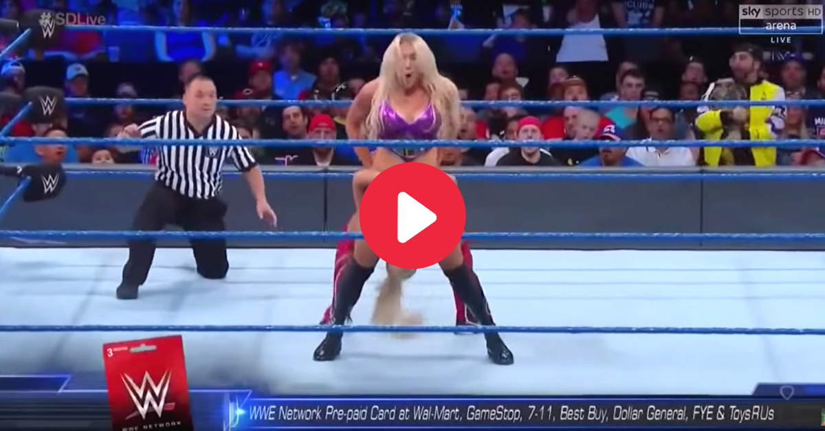 Charlotte Flair Wardrobe Malfunction