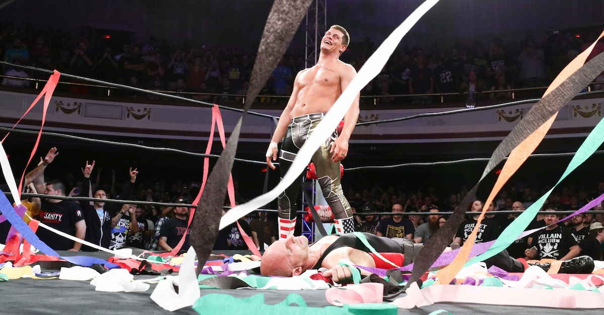 Cody Rhodes Ring of Honor World Champion