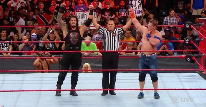 WWE Raw results: Cena returns, No Mercy main event confirmed, Cass injured