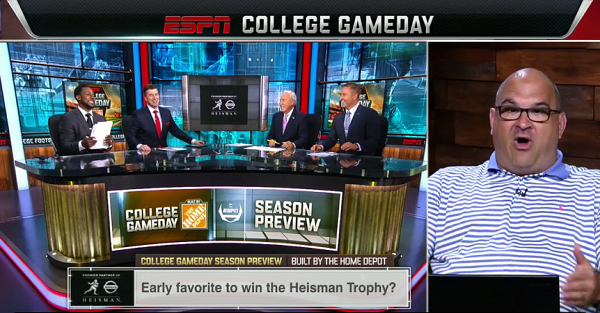 "College GameDay analyst has surprise pick for ""off-the-radar"" Heisman contender"
