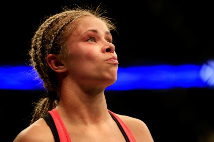 UFC standout Paige VanZant shares the frightening photos of her dramatic weight cuts