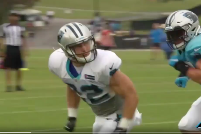 Christian McCaffrey is out here making 4-time Pro Bowlers look foolish