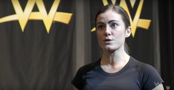 WWE inks first ever woman to complete American Ninja Warrior obstacle course