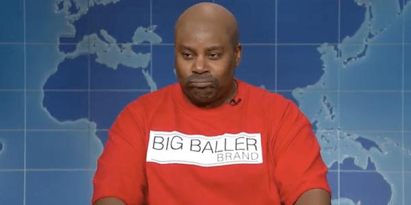 Kenan Thompson nails hilarious LaVar Ball imitation on SNL Weekend Update