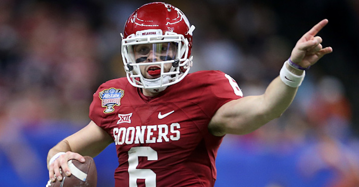 """FOX analyst boldly calls Baker Mayfield """"undraftable"""" ahead of the NFL Combine"""