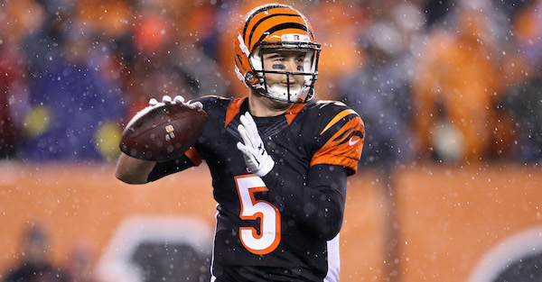 Former Alabama standout AJ McCarron the subject of reported trade talks