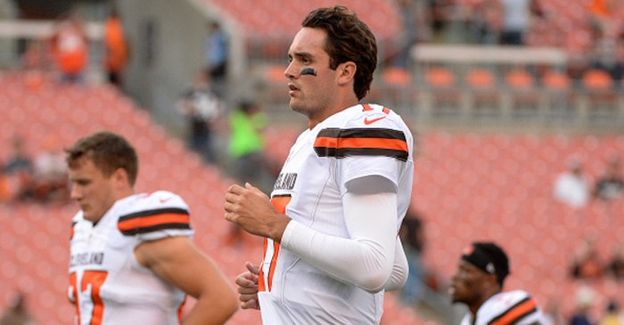 Cleveland Browns will pay Brock Osweiler $15.2 million to play for another team this season