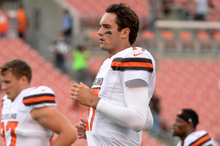 Brock Osweiler might not even be the No. 2 quarterback in Cleveland