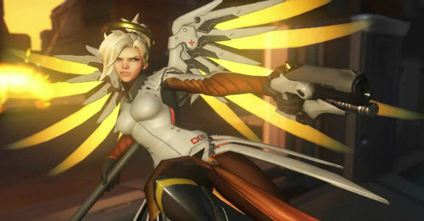More Overwatch changes include a totally revamped Mercy