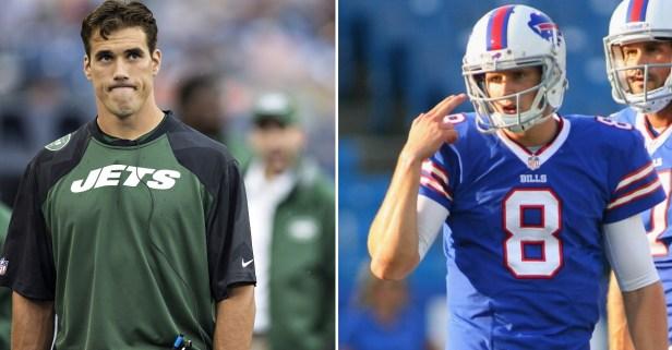 Matt Leinart and Brady Quinn got into a Twitter fight over an iconic college football play