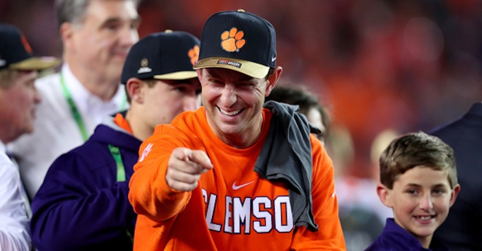 Dabo Swinney's Real Name Was a Mystery Until 3rd Grade