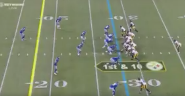Watch Josh Dobbs drop an absolute dime in his first career touchdown pass