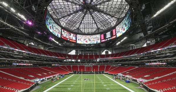 Brand-new NFL stadium has a restaurant that's closed every Sunday