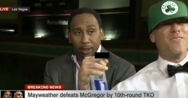 Idiot who dropped the F-bomb on live TV even left Stephen A. speechless