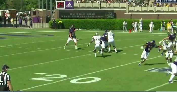 Hilarious college punt fail results in 5-yard loss