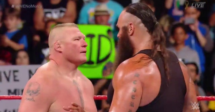 WWE No Mercy results: Lesnar-Strowman, Cena-Reigns, new champion crowned