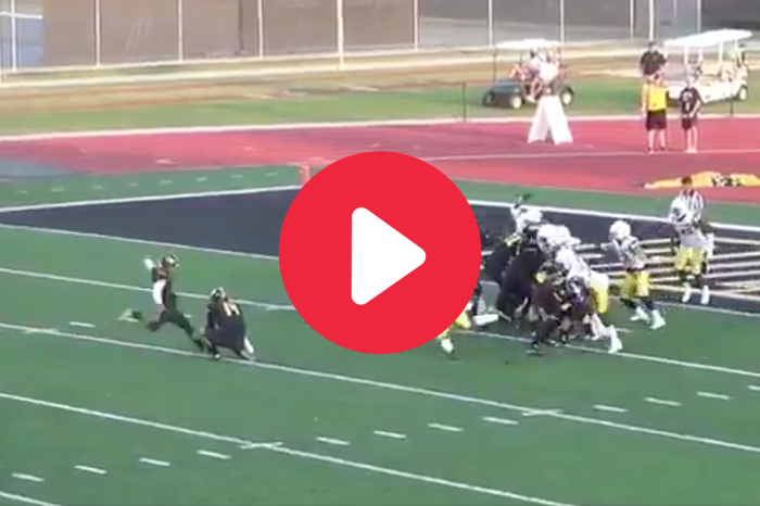 College Kicker Gets Blocked, Then He Nails it Off the Bounce Anyway
