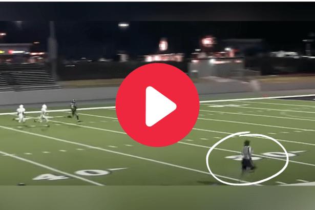 Ref's Blazing 40-Yard Dash During Game Drove the Internet Wild