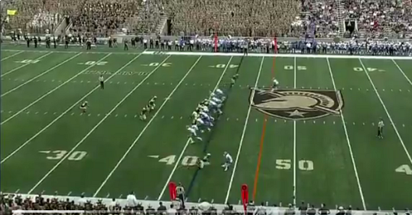 Army ices its game on incredible trick play
