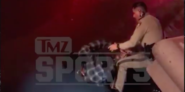 Video emerges after Super Bowl champion's claim of recent police brutality