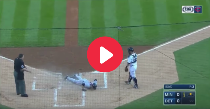MLB Player Turns Bunt Into a Leadoff Home Run