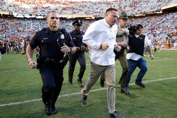 The top coaching candidates to replace Butch Jones at Tennessee