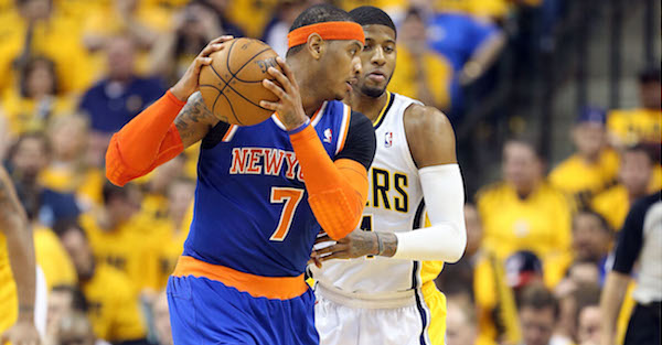 Carmelo Anthony says he and Paul George nearly got traded to LeBron James' Cleveland Cavaliers