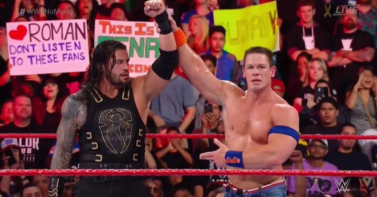 WWE Tribal Chief Roman Reigns Advices John Cena & The Rock To Stay In Hollywood 111
