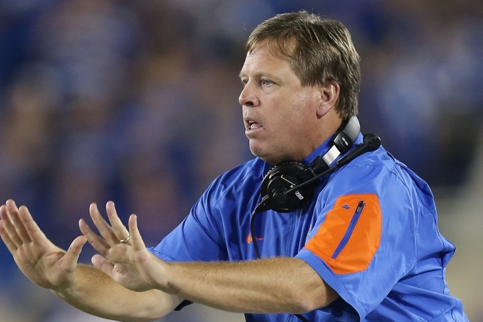 "Jim McElwain reportedly on the ""radar"" for one college head coaching opening"