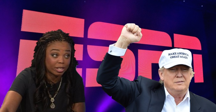 White House doubles down on comments from ESPN's Jemele Hill