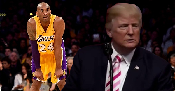 Kobe Bryant sends out a rare tweet in response to Donald Trump's recent comments
