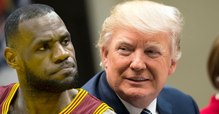 LeBron James disrespects President Donald Trump following Stephen Curry comments
