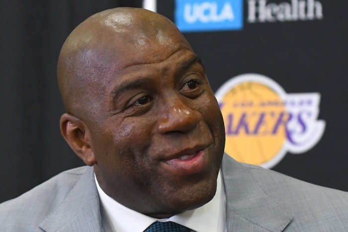 Here's why Magic Johnson was just fined $50,000 by the NBA