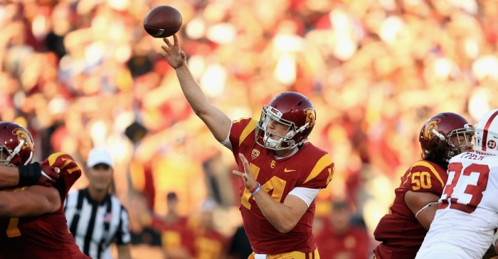 Sam Darnold's NFL Draft future is wavering after disastrous end to his season