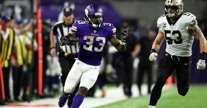 Dalvin Cook breaks Adrian Peterson Vikings record on MNF against AP