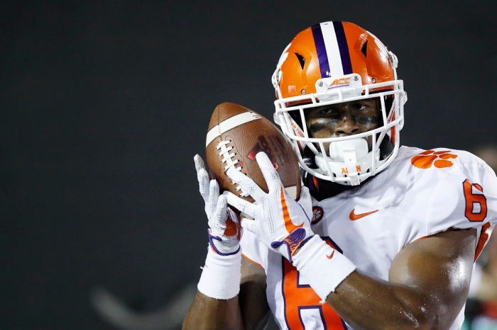 No. 2 Clemson riding high as it hosts Boston College
