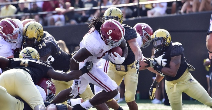"Alabama RB reportedly overheard Vanderbilt player during blowout: ""(I) don't even wanna play anymore"""