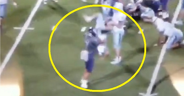 High School Player Ejected for WWE-Style Powerbomb Tackle