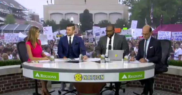 Unlike College GameDay, SEC Nation will be heading to an actual game next week
