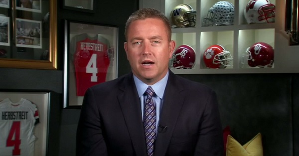 "Kirk Herbstreit weighs in on ESPN's ""way-too-early"" Top 25 rankings"