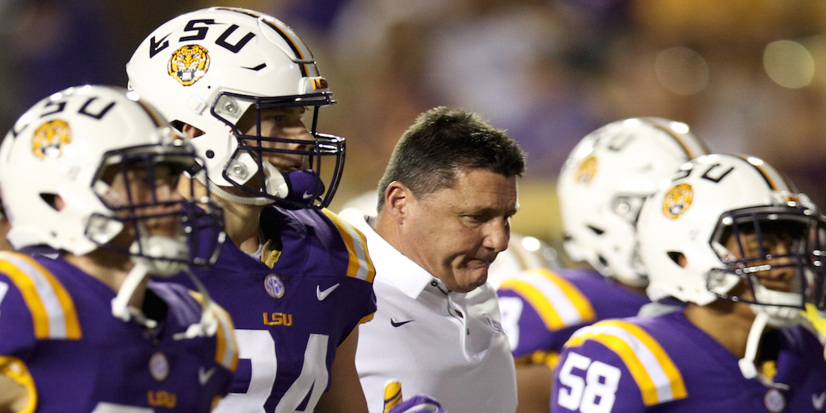 LSU just unbelievably lost to a Sun Belt team